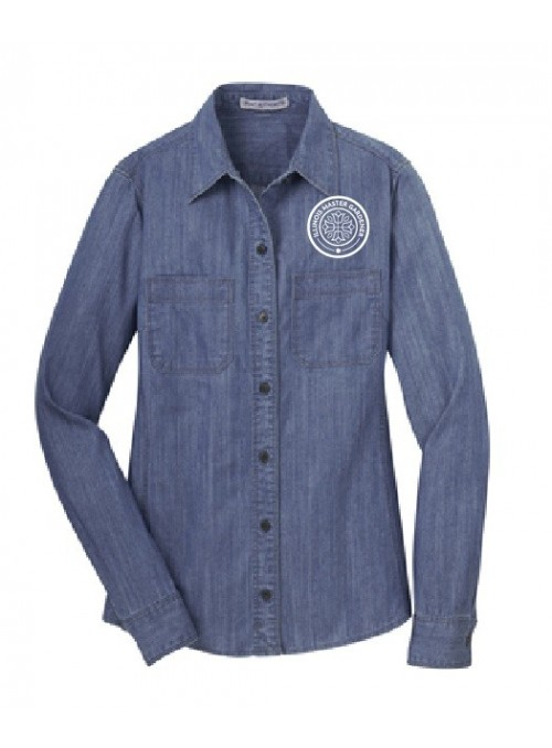 LMNG Ladies Long Sleeve Denim