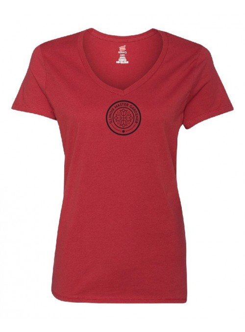 ILMG Ladies V-Neck T