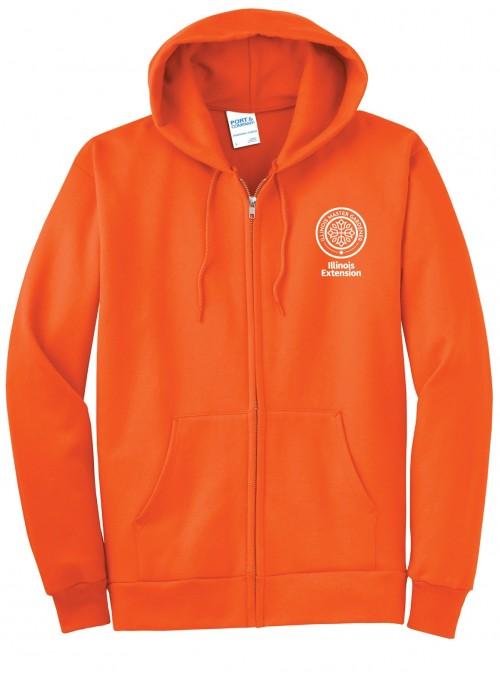 Full-Zip Hooded Fleece - MG
