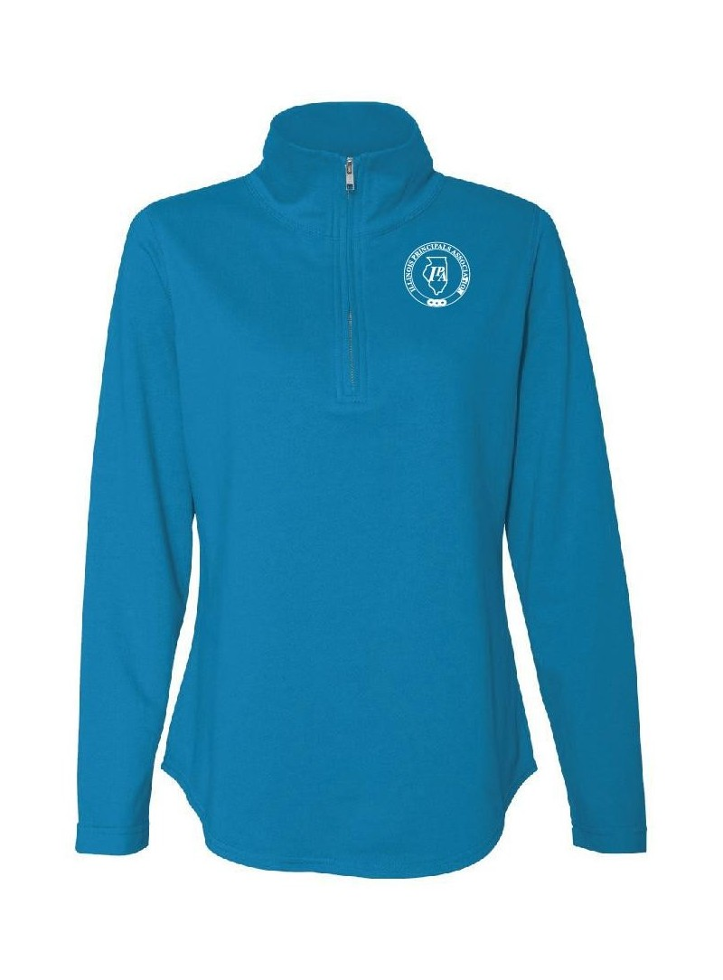 IPA LAT Ladies 1/4 Zip Pullover