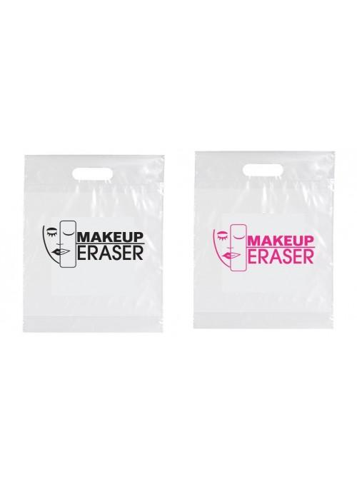 MUE (qty 500) Plastic Die Cut Handle Bags