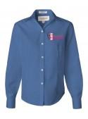MUE Ladies Van Heusen Embroidered Dress Shirt