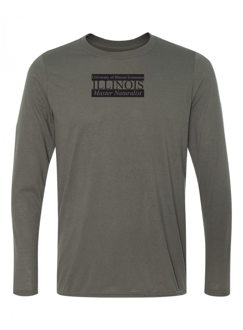 ILMN Mens Long Sleeve Wick Dry T-Shirt