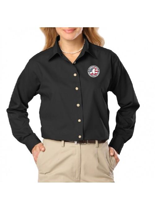 CCPD Ladies Long Sleeve Poplin