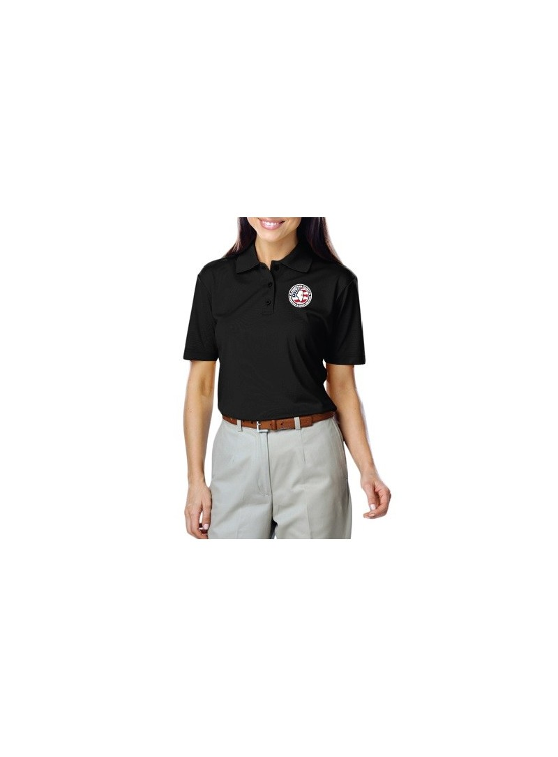 CCPD Ladies Moisture Wicking Polo