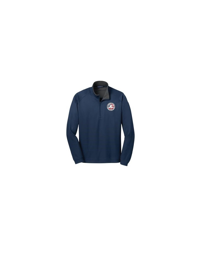 CCPD Mens Vertical Texture 1/4 Zip Pullover