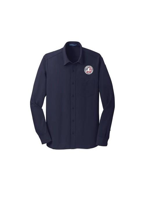CCPD Mens Dimension Knit Dress Shirt