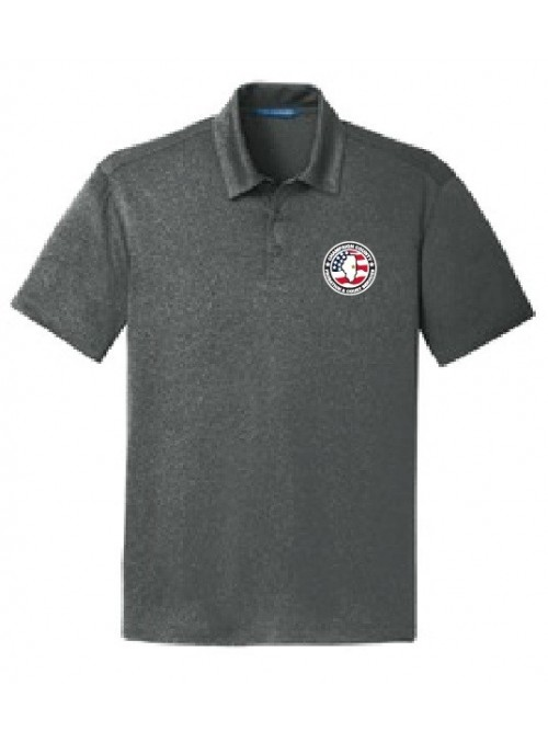 CCPD Men's Trace Heather Polo