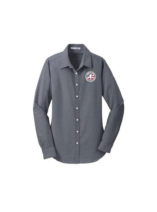 CCPD Ladies Oxford Dress Shirt