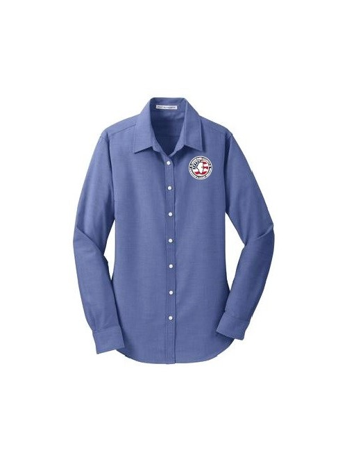 CCPD Ladies Oxford Dress Shirt